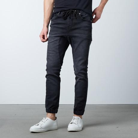 Rich V3 Twill Jogger // Black (S)