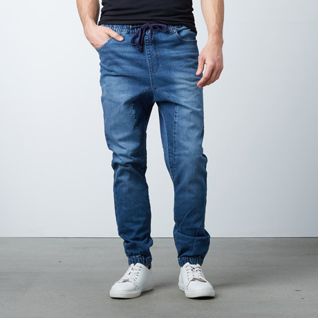 Zeel Denim Jogger // Dark Indigo