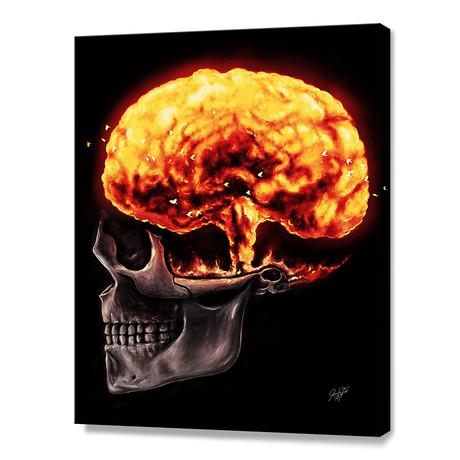 """Mind Blown (10""""H x 8""""W x 0.75""""D)"""
