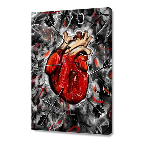 """Heart & Arrows (12""""H x 8""""W x 0.75""""D)"""