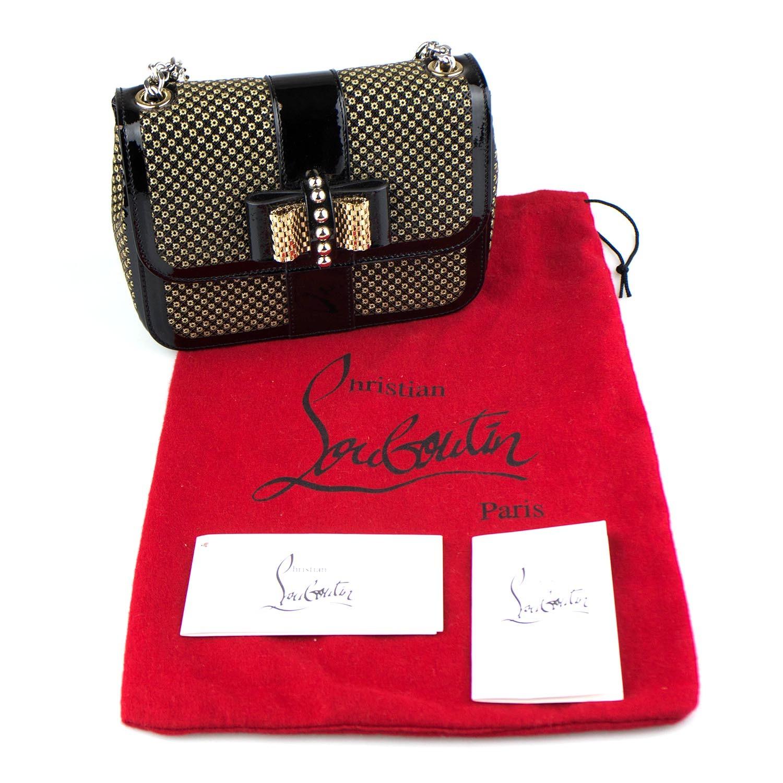Christian Louboutin    Sweet Charity Mini Backpack Bag    Black ... a847af9b2647b