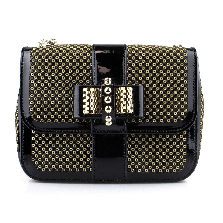 96076cc603a Christian Louboutin // Sweet Charity Mini Backpack Bag // Black ...
