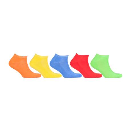 Hidden Comfort Athletic Gym Running Socks // Set of 5 // 3071
