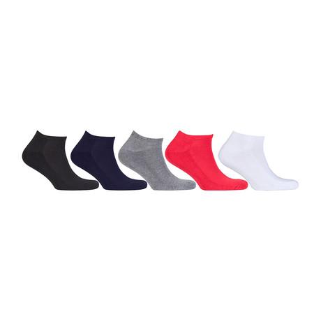 Hidden Comfort Athletic Gym Running Socks // Set of 5 // 3072