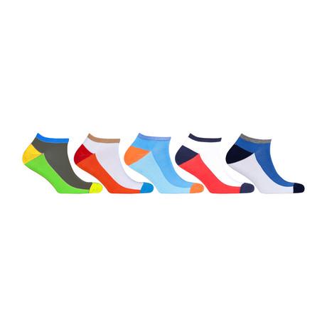 Hidden Comfort Athletic Gym Running Socks // Set of 5 // 3073