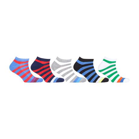Hidden Comfort Athletic Gym Running Socks // Set of 5 // 3074