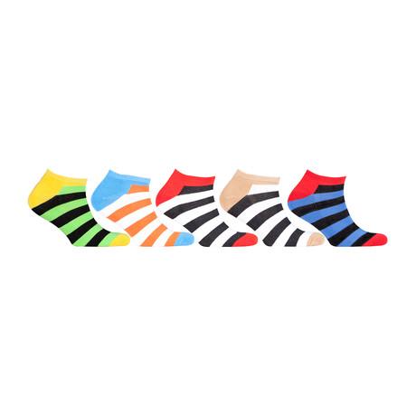 Hidden Comfort Athletic Gym Running Socks // Set of 5 // 3075