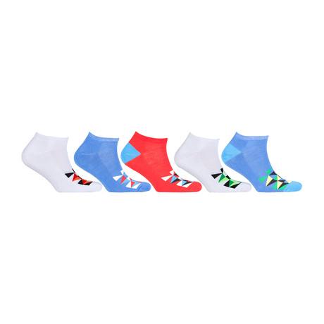 Hidden Comfort Athletic Gym Running Socks // Set of 5 // 3076