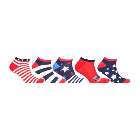 Hidden Comfort Athletic Gym Running Socks // Set of 5 // 3077