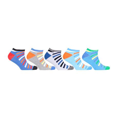 Hidden Comfort Athletic Gym Running Socks // Set of 5 // 3078