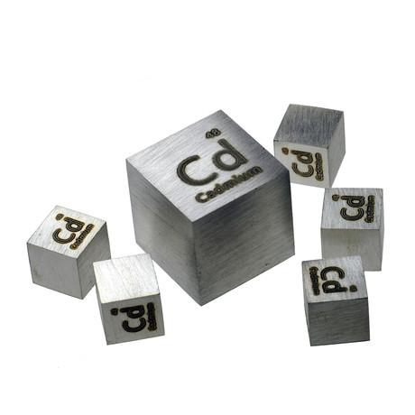 Cadmium Metal Cube 99.95% (25.4mm)
