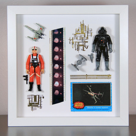 Star Wars Display // Battle In Outer Space