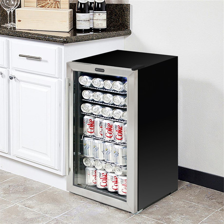 Whynter Beverage Refrigerator // Stainless Steel