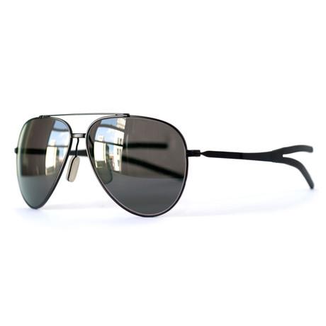 Model 10.02 Sunglasses // Matte Black