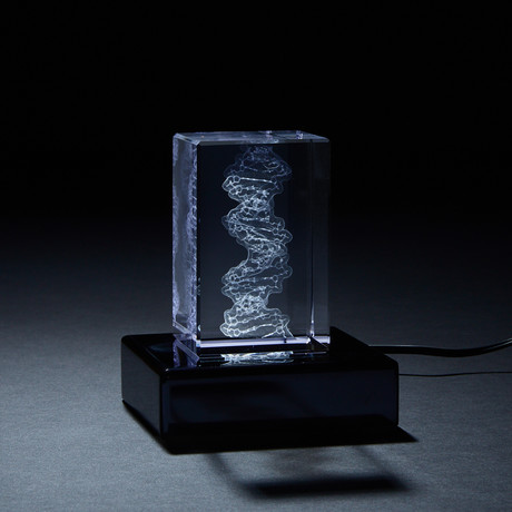 DNA Crystal (With LED Base)