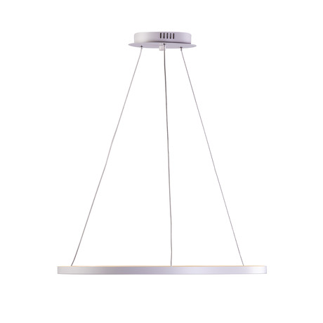 Floating LED Round Chandelier // Single