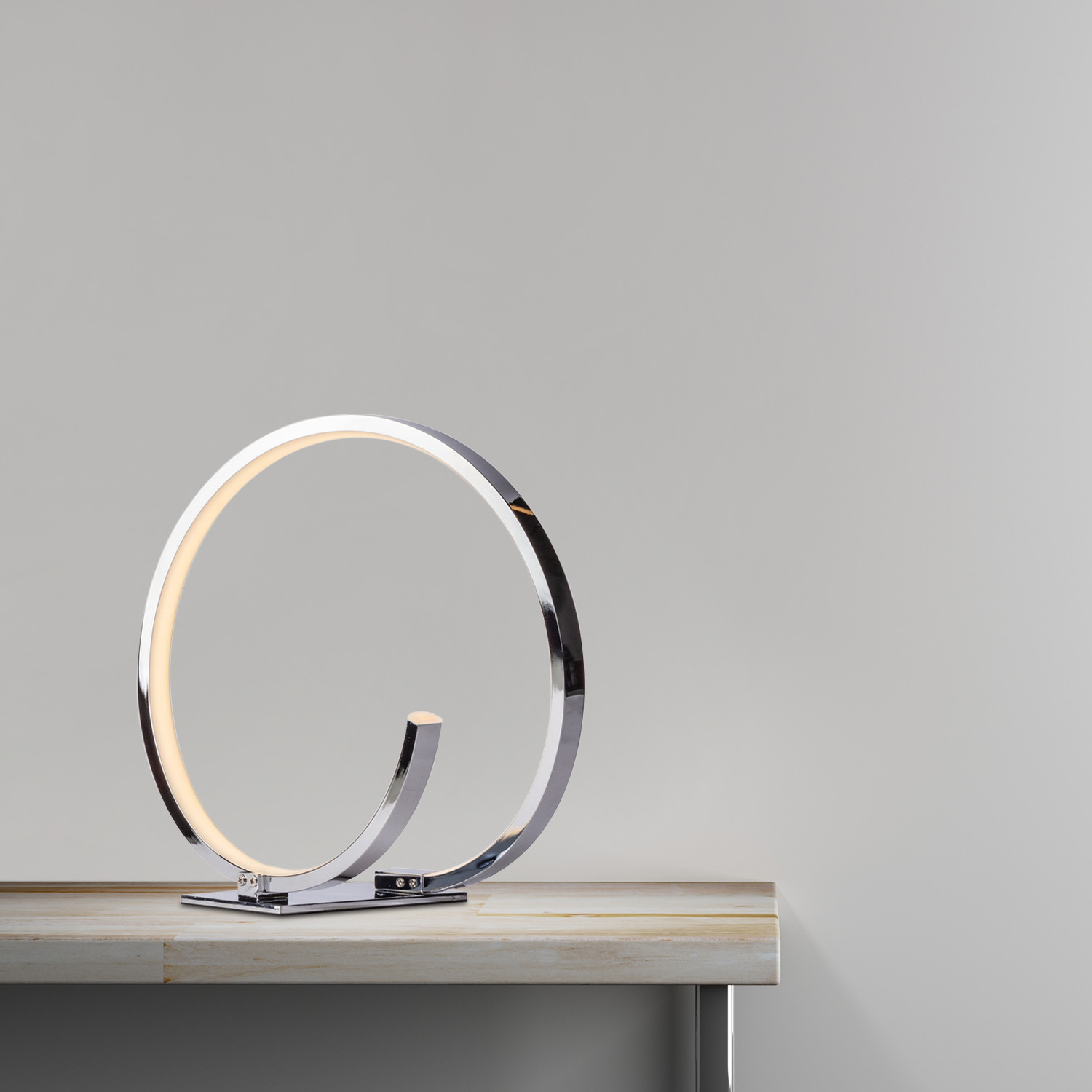 Modern Loop Table Lamp Finesse Decor Touch Of Modern