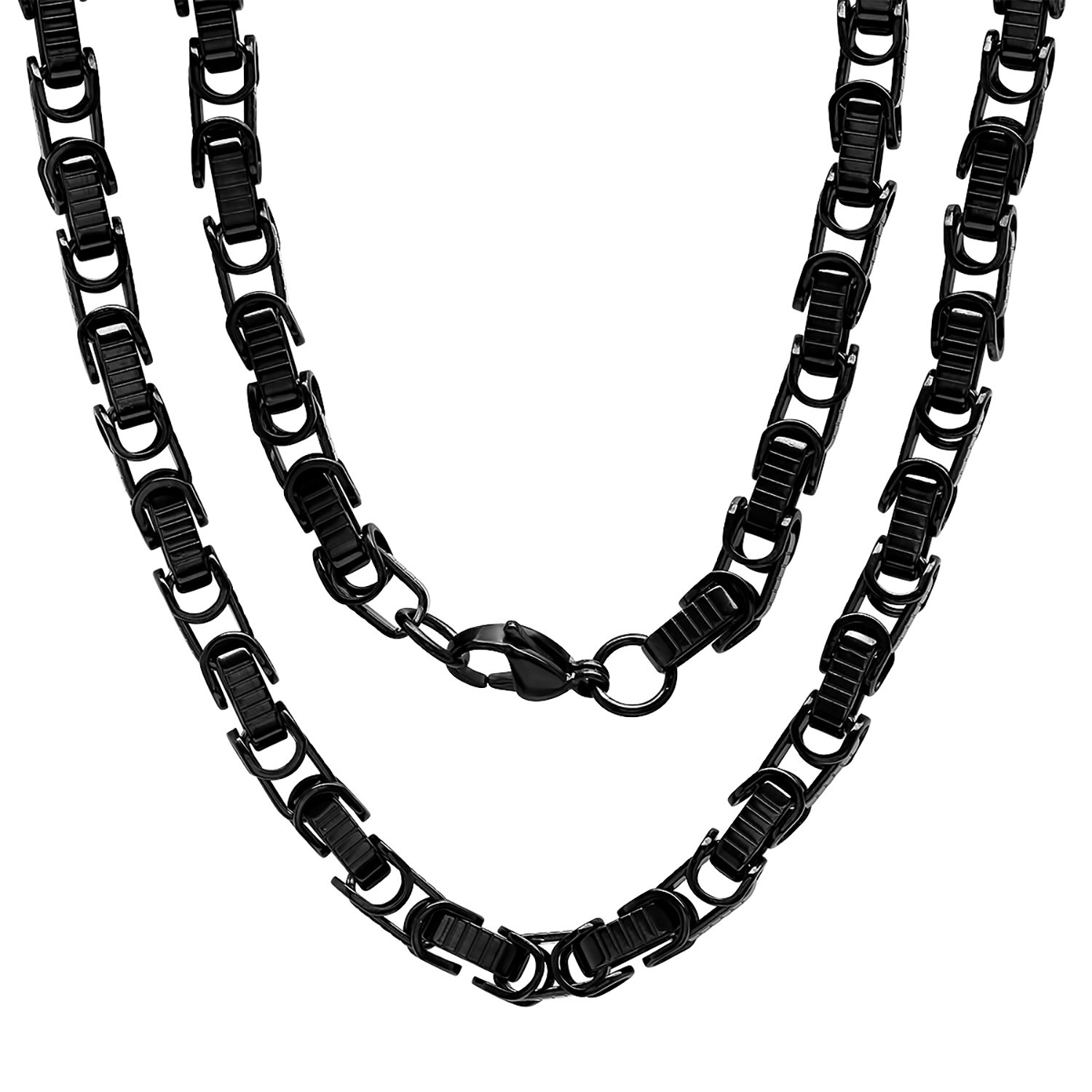 the necklaces realreal products byzantine chain necklace jewelry enlarged