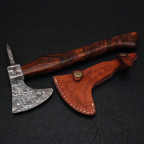 Damascus Mini Tomahawk // 9644