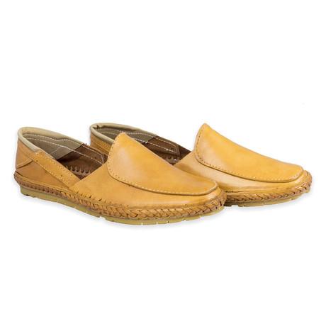 Magnate Leather Sandals // Natural (UK: 6)