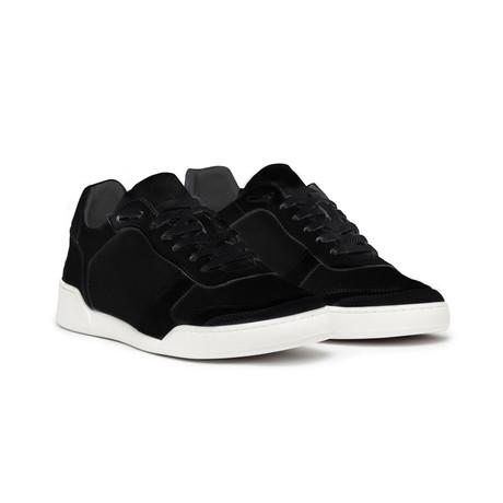 Positano Suede Shoe // Black (Euro: 43)