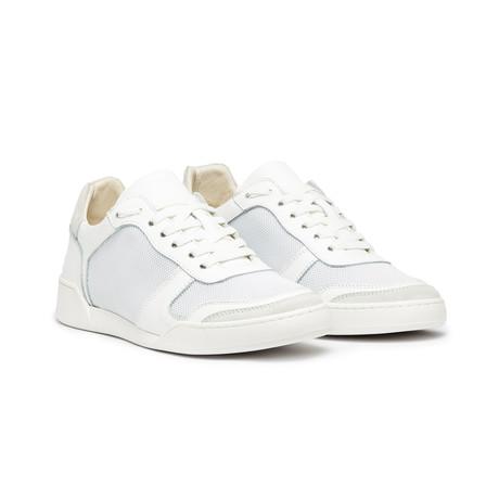 Positano Shoe // Triple White