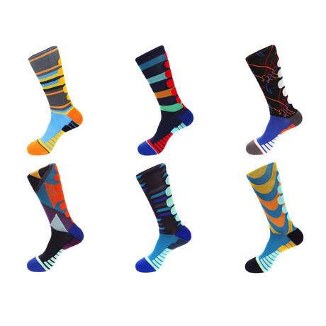 Athletic Socks // 6002-6 // Set of 6