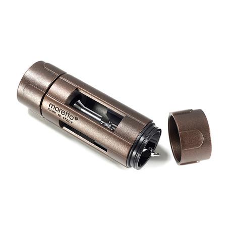 Moretto Aluminum Corkscrew // Copper