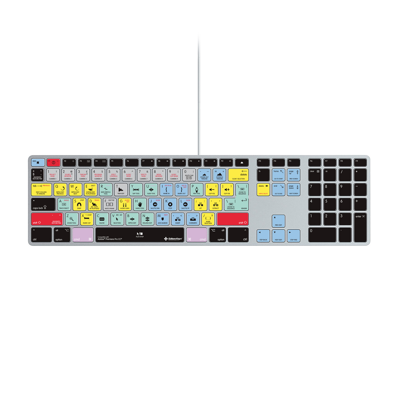 adobe premiere cc keyboard