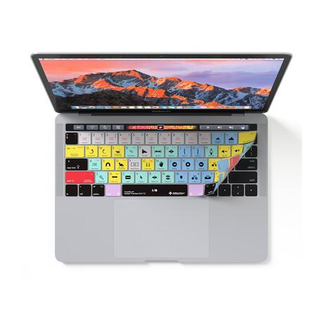 Adobe Premiere Pro CC // MacBook Pro + Touchbar