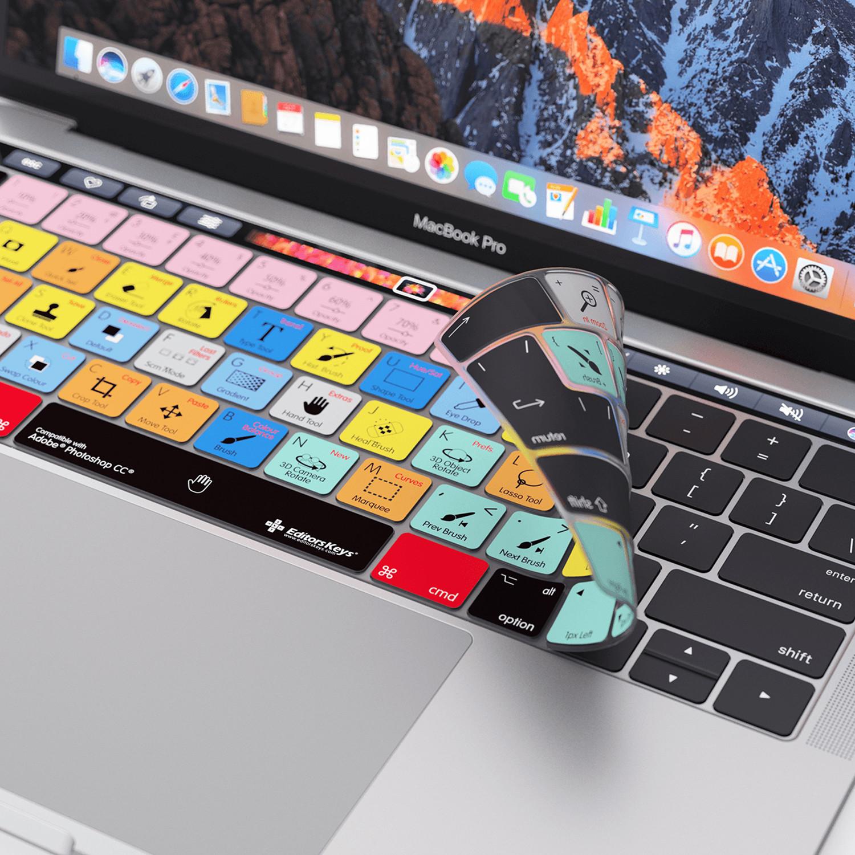 photoshop macbook pro touch bar