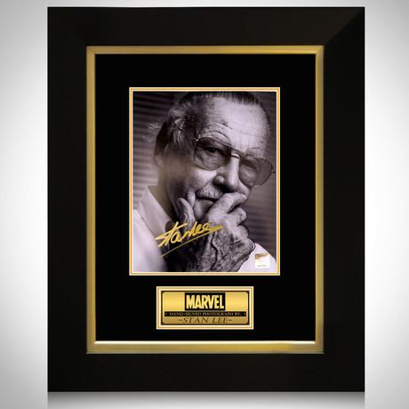Stan Lee // Stan Lee Signed Photo // Custom Frame