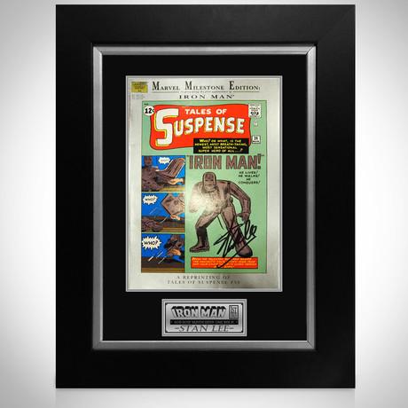 Tales Of Suspense #39 – Iron Man Milestones Edition // Stan Lee Signed Comic // Custom Frame