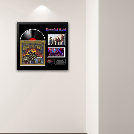 Signed + Framed Collage // Grateful Dead // Collage I