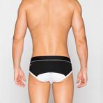Briefs // Black + White (XL)