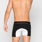 Boxer Briefs // Black + White (M)