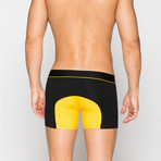 Boxer Briefs // Black + Yellow (XL)