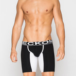 Long Boxers // Black + White (L)