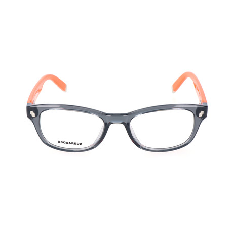 Jeremy Frame // Transparent Gray Orange
