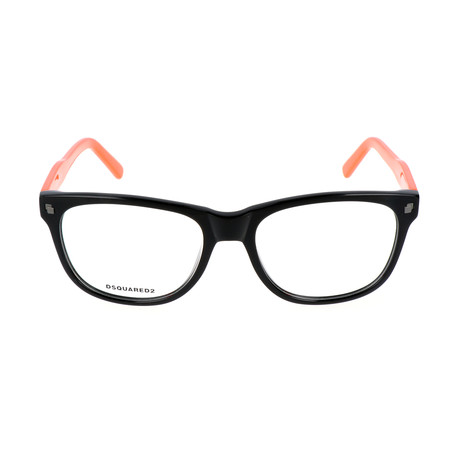 Aiden Frame // Black + Orange