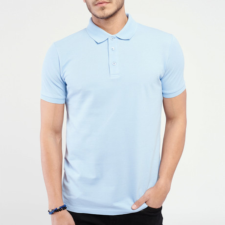 Polo T-Shirt // Light Blue II (M)