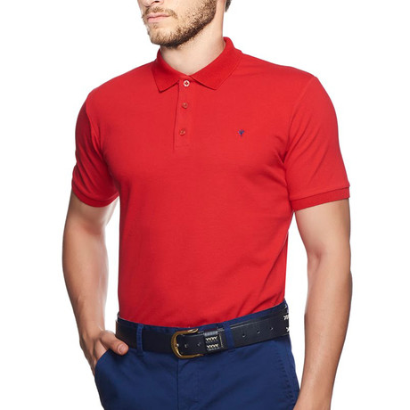 Polo T-Shirt // Red