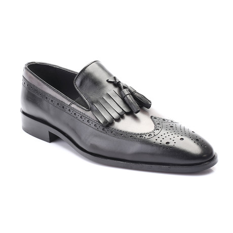 Porter Loafer // Black Gray (Euro: 39)