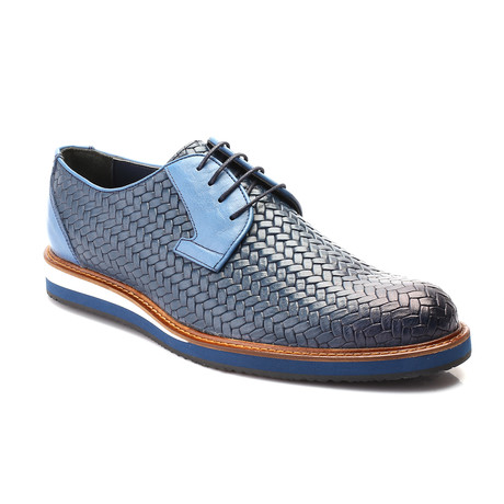 Pierce Casual Derby // Blue