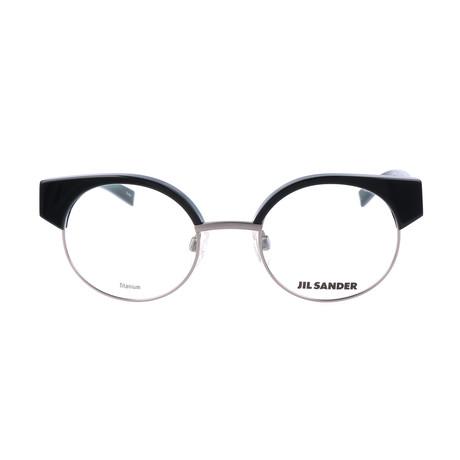 Unisex J2006 Optical Frames // Titanium + Black