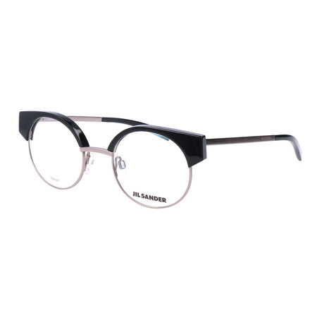 Unisex J2006 Optical Frames // Titanium + Black