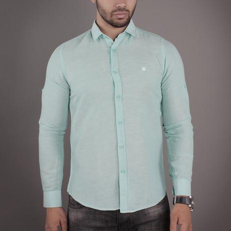 Nixon Button-Up Shirt // Green