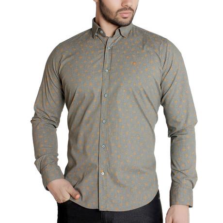 Orion Button-Up Shirt // Green