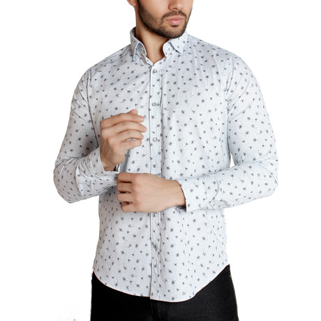 Orion Button-Up Shirt // White (S)