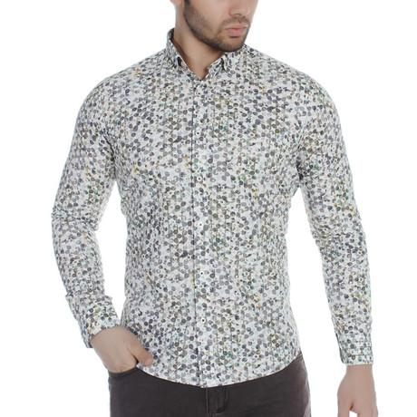 Kace Button-Up Shirt // Green